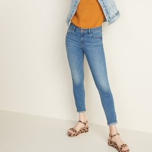 Old Navy Pop Icon Skinny Jeans High Rise Light
